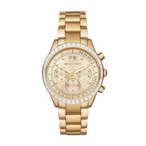 Relógio Michael Kors Mk6187 Dourado Garantia + Frete Gratis