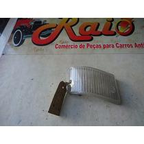 Lente Da Lanterna Dianteira Fiat 147 Original Nova