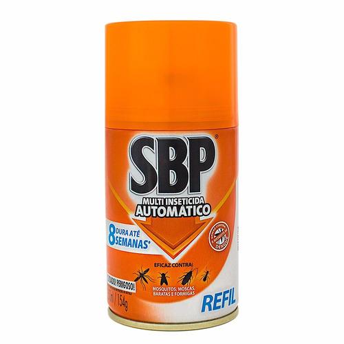 5 Refil De Inseticida Sbp 250ml P/aparelho Automático