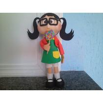 Boneco Em Eva 3d Turma Do Chaves 34 Cm Chiquinha