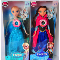 2 Bonecas Do Filme Frozen 2 Musical Elsa E Anna