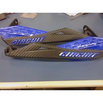 Protetor De Mao Fenix Circuit Azul Yamaha (lander/xt/xtz)