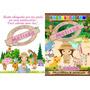 40 Livro De Colorir Personalizado 15 X 20 Cm + Giz Lembrança