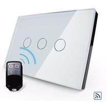 Interruptor Touch Livolo 3vias Branco Pode Ser Controlado Rf