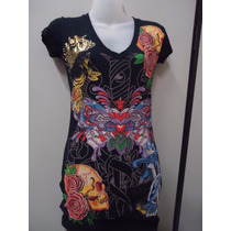 Vestido Ed Hardy By Christian Audigier - Novo - Original