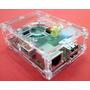 Case Box / Caixa / Gabinete Raspberry Pi Acrílico Transpar.