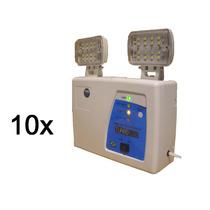 Kit Com 10 Unidades Do Bloco Autônomo Turboled 400 6v