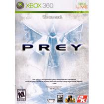 Jogo Xbox 360 Prey Original E Lacrado Midia Fisica