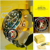 Relógio Invicta Pro Diver 6984 B.ouro 18k -linha 6981 / 6983