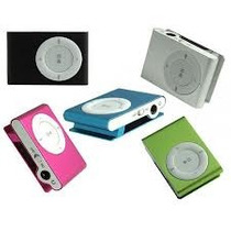 Kit 10 Minis Mp3 Player+fm Shuflle Clip+entrada Micro Sd