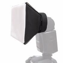 Difusor Flash Mini Softbox Pixco Universal - Canon, Nikon