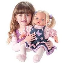 Boneca Girls Jeans Canta 3 Cantigas -milk Brinquedos