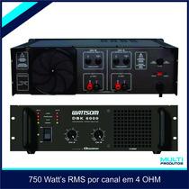 Amplificador Dbk 6000 Ciclotron Dbk 6000 Novíssima