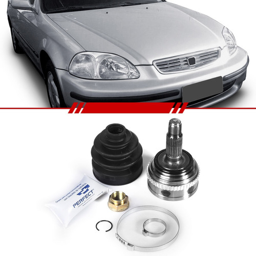 Kit Junta Homocinética Honda Civic 2002 2001 2000 99 98 97