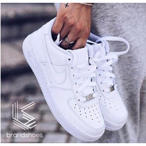 Tênis Branco Feminino Nike Air Force Lançamento