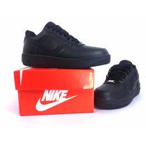 Tênis Nike Air Force E Ultra Force Ess Couro Cano Baixo Novo