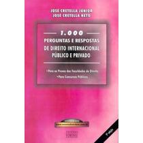 Livro 1.000 Perguntas E Respostas De Direito Internacional