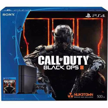 Playstation Ps4 500gb Call Of Duty Black Ops Ill Sony Bundle