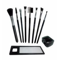 Kit Completo Maquiagem Com Espelho E Case Copo Bc615 Mundial