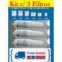 Kit 3 Unid. Refil Filtro Purificador Baby Soft Frete Grátis
