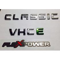 Kit Emblema Adesivo Classic Flexpower Vhc E