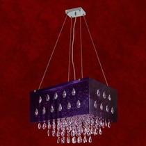 Lustre Cristal Pendente Iluminacao Parede Sala 2262-a-pd Mr