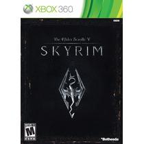 The Elder Scrolls V Skyrim Xbox 360 Código (25 Digitos)