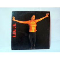 Lp Vinil - Marina Lima (1991) - Nacional