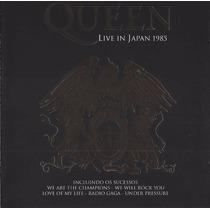 Cd Queen Live In Japan 1985 Clássico Original