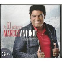 Marcos Antonio - As 60 Melhores - Sel Essencial [cd-triplo]