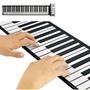 Piano Teclado Flexível Roll Up, Sintetizador