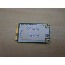 Placa De Rede Wireless Do Notebook Philips 13nb Usado