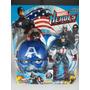 Brinquedo Boneco Marvel 25 Cm Capitão América Homem De Ferro