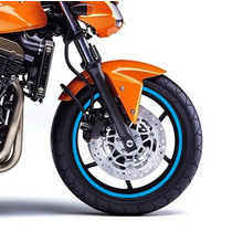 Friso Adesivo Refletivo Para Roda Azul