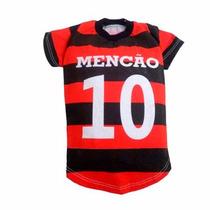 Roupa Para Cachorro De Time Flamengo Tamanho P - Pet Shop