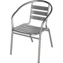 Cadeira Poltrona Em Alumínio Mor