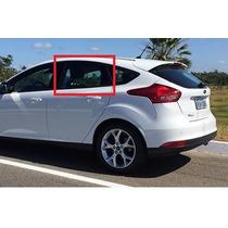 Vidro Porta Traseiro Esquerdo Focus 2014 A 2017 Hatch/sedan