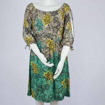 Vestido Curto Feminino Estampado Floral Tecido Leve N.f.