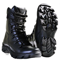 Bota Coturno Tático Estilo Arroyo-rocam-motociclista-militar