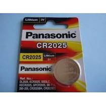 Bateria Panasonic Cr2025 3v Cartela 5 Peças Original