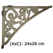 Mão Francesa 28x23 - Em Ferro Fundido Nª1.