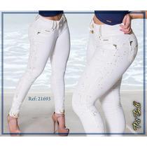 Calça Pit Bull Original Pitbull Jeans Levanta Modela Bumbum