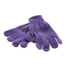 Luva Inverno Frio Feminina Adulto Lã Preta