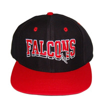 Nfl Atlanta Falcons Vintage Onda Snapback Chapéu Boné