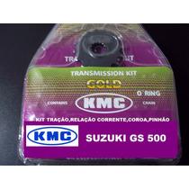 Kit Relacao Suzuki Gs500 Kmc Com Rententor