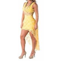 Compre 1 Leve 2 Lindo Vestido Renda Noite Balada Festa Show