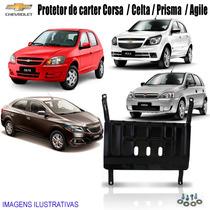 Protetor De Carter Corsa / Celta / Prisma / Agile / Até 2015