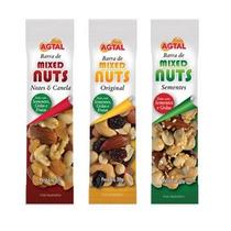 Barra Cereal Mixed Nuts Agtal 12 Unid 30gr Saudável Prático