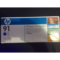 Cartucho Plotter Hp 91 Cyan C9467a