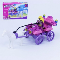 Bloco De Montar (117pcs) 22x15cm Fairyland Compt. Lego